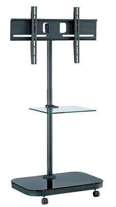 "AVFS941 37""-52"" upto VESA 600x400, 40kg, w/ glass shelf"