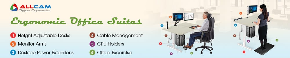 Allcam Ergonomic Office Suite Banner