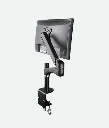 AVA12S for 1x LCD 1.5-6kg Tilt, Swivel, Rotate Black