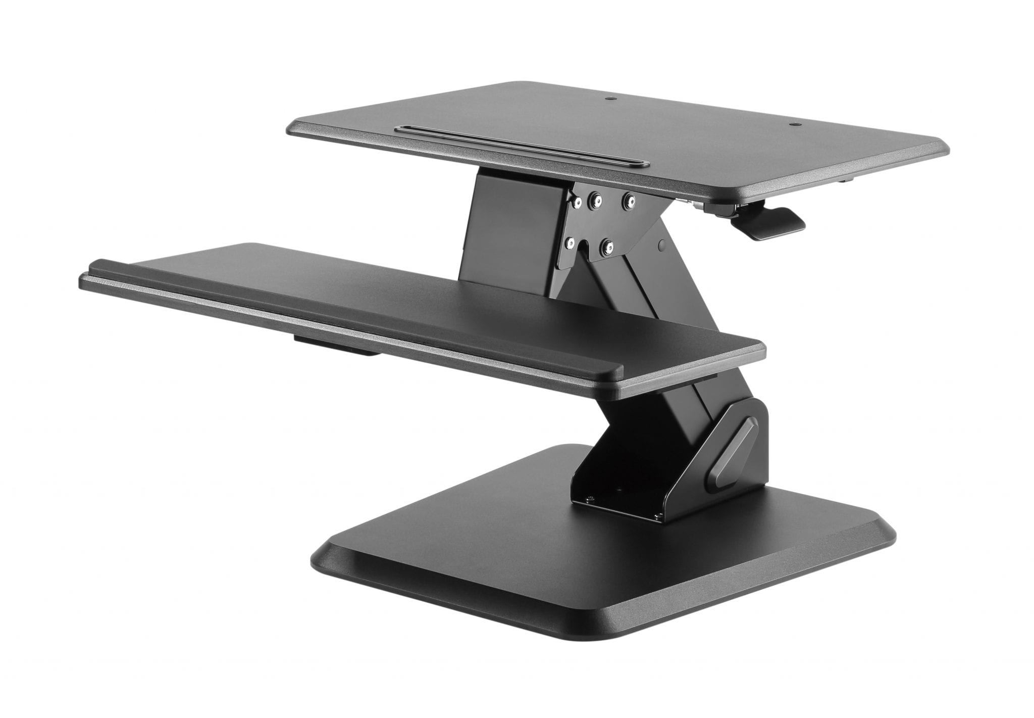 GSS03BAS Gas-spring Sit-Stand Workstation with weighted base