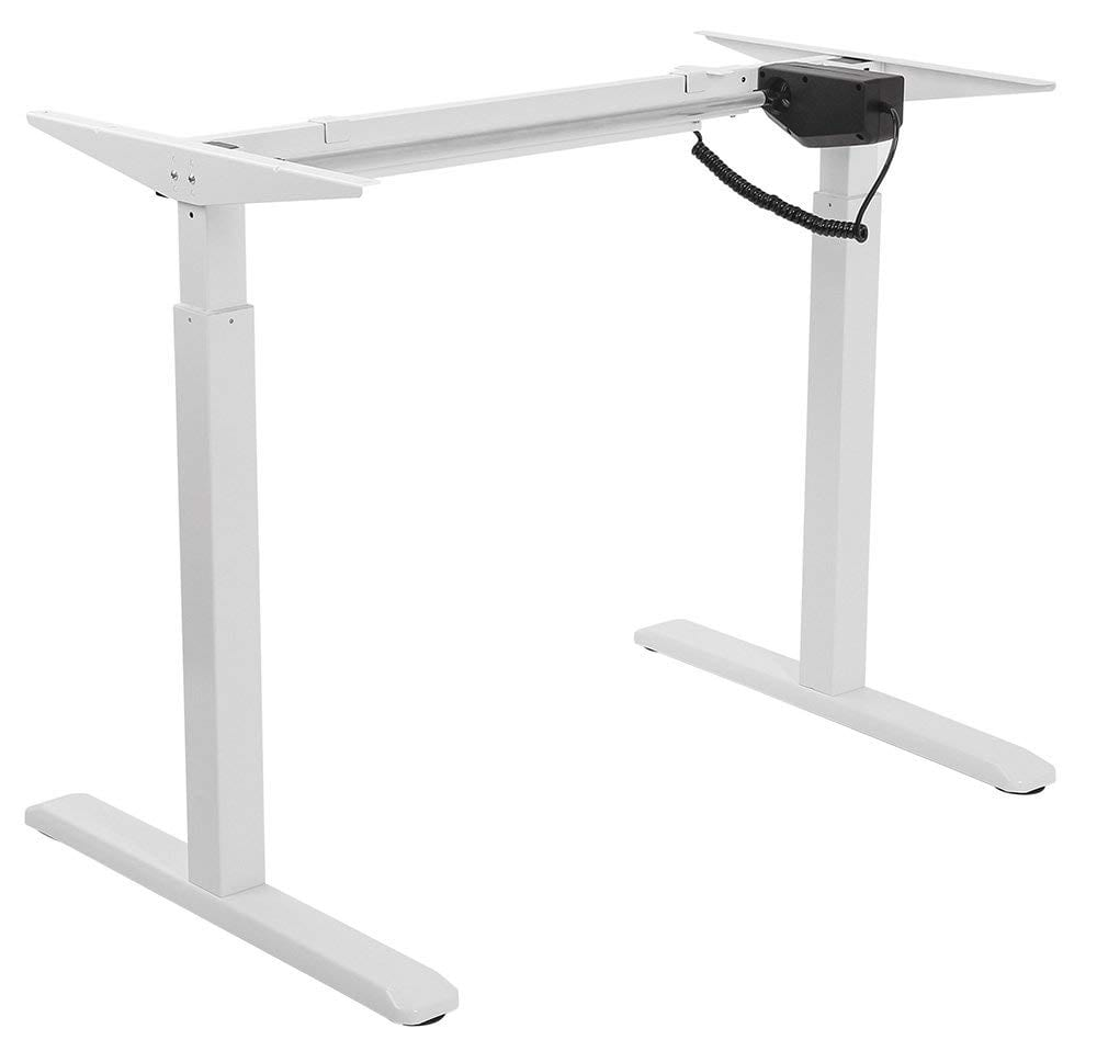 EDF01SNW Single-motor electric desk frame Height 0.7-1.2m Width 1.0-1.6m Depth 0.6m (normal column, basic controller)