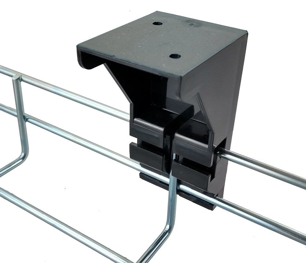 CTMT Mounting set for under desk mesh cable trays