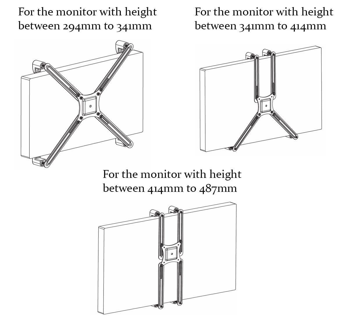 ACNONVS adapter for non-AVSA monitors