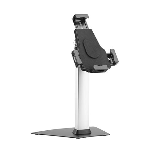 UT2103 Universal Tablet Kiosk Stand anti-theft security lock front view