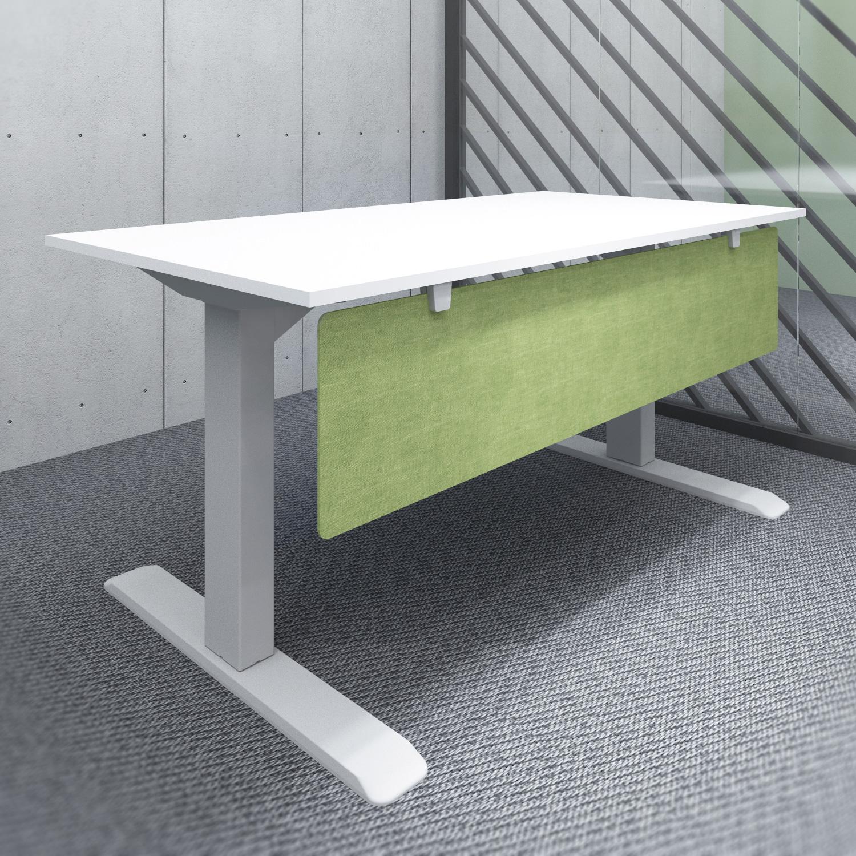 s144gr acoustic under desk modesty panel green
