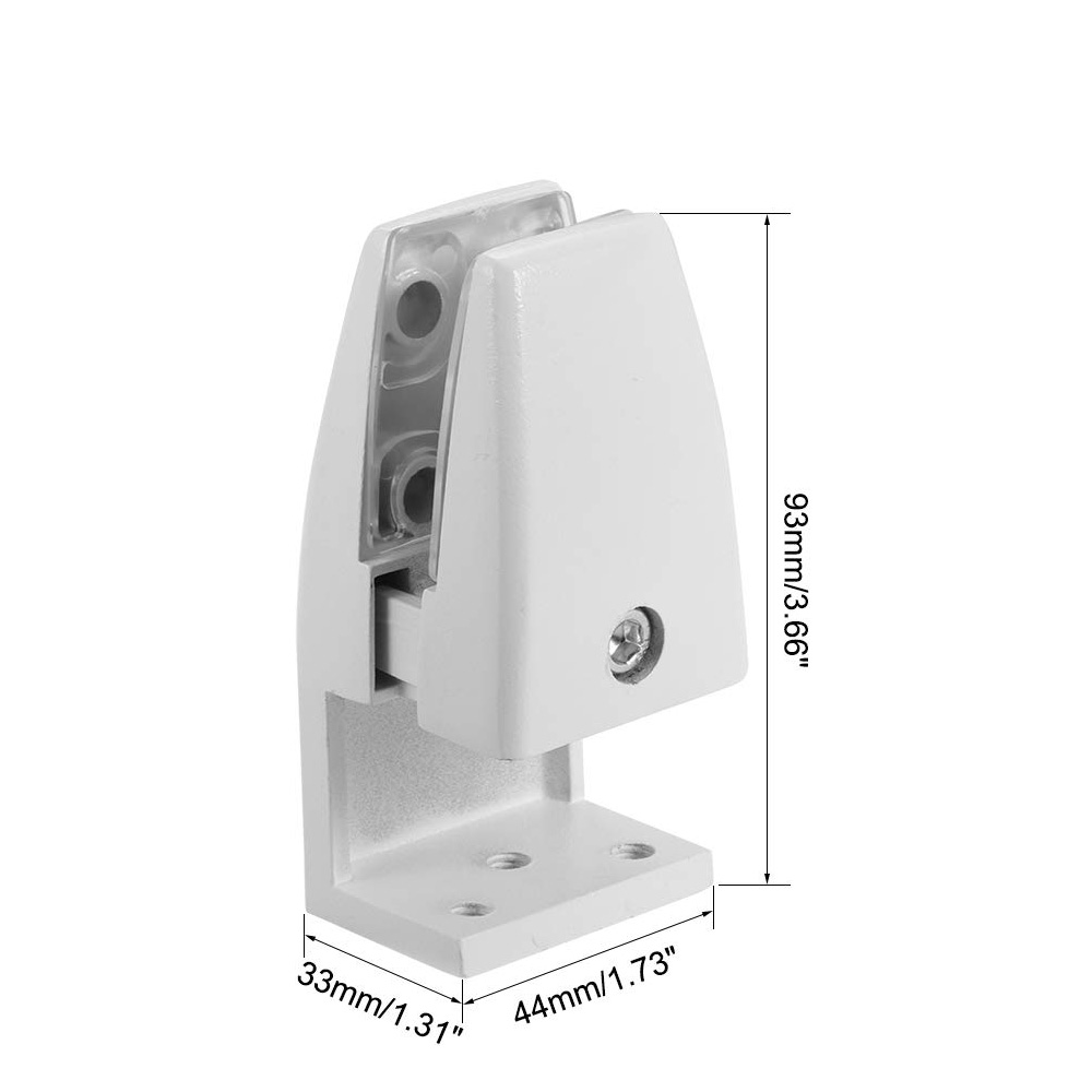 sem02 size diagram edge mount brackets for desk top privacy screens dividers