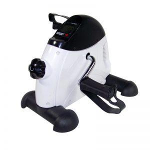 Allcam under-desk mini bike exerciser for office exercise arm and leg training White