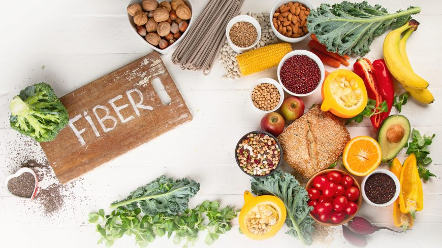 which what high fibre rich healthy food to eat