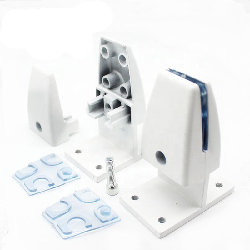 SEM03 Clamp-on/ Screw-down Brackets for Desk Privacy Screens/ Dividers parts components