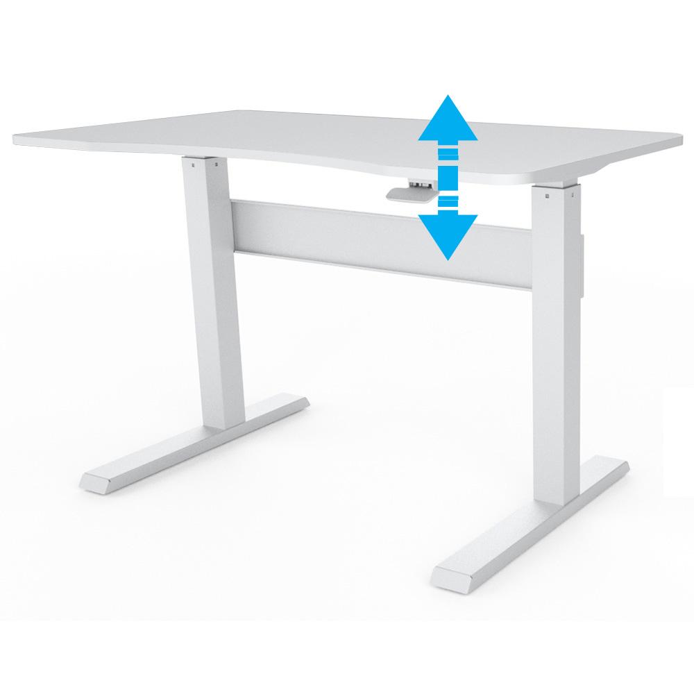 Allcam GD03S gas spring height adjustable sit-stand desk lever