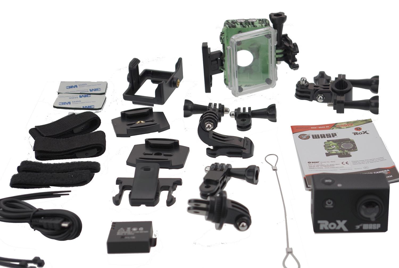 Cobra Waspcam action camera box contents