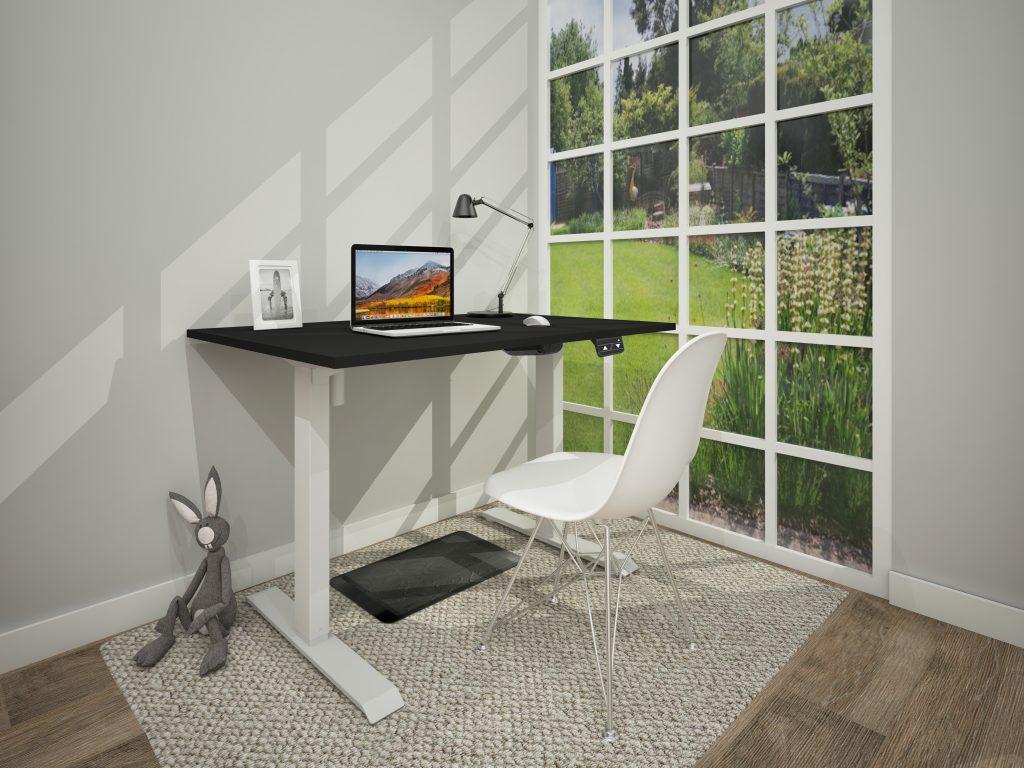 Allcam desk electric sit-stand workstation home working