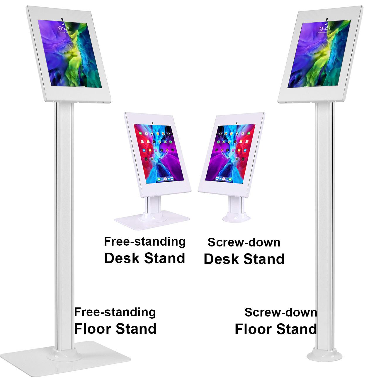 2600-serues ipad kiosk floor stand
