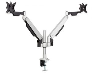 Allcam GSD305H Gas spring twin monitor arm stand