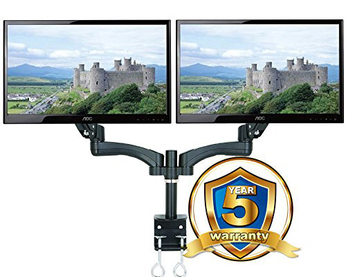 Allcam gsa12d twin led lcd monitor arm stand
