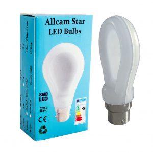 Allcam Star 7W flat-shap A60 Globe LED Bulb