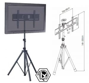 tr941 tripod tv floor stand large tvs