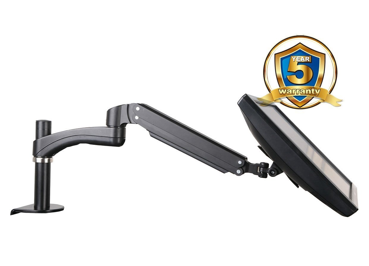 ava12s gas spring single LCD monitor arm stand