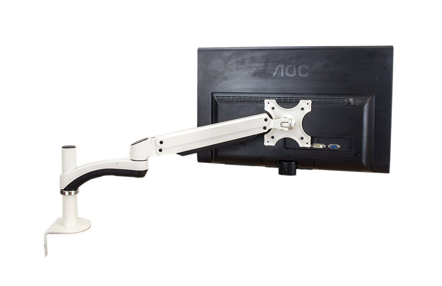 AVA13WS for 1x LCD 1.5-6kg Tilt, Swivel, Rotate White