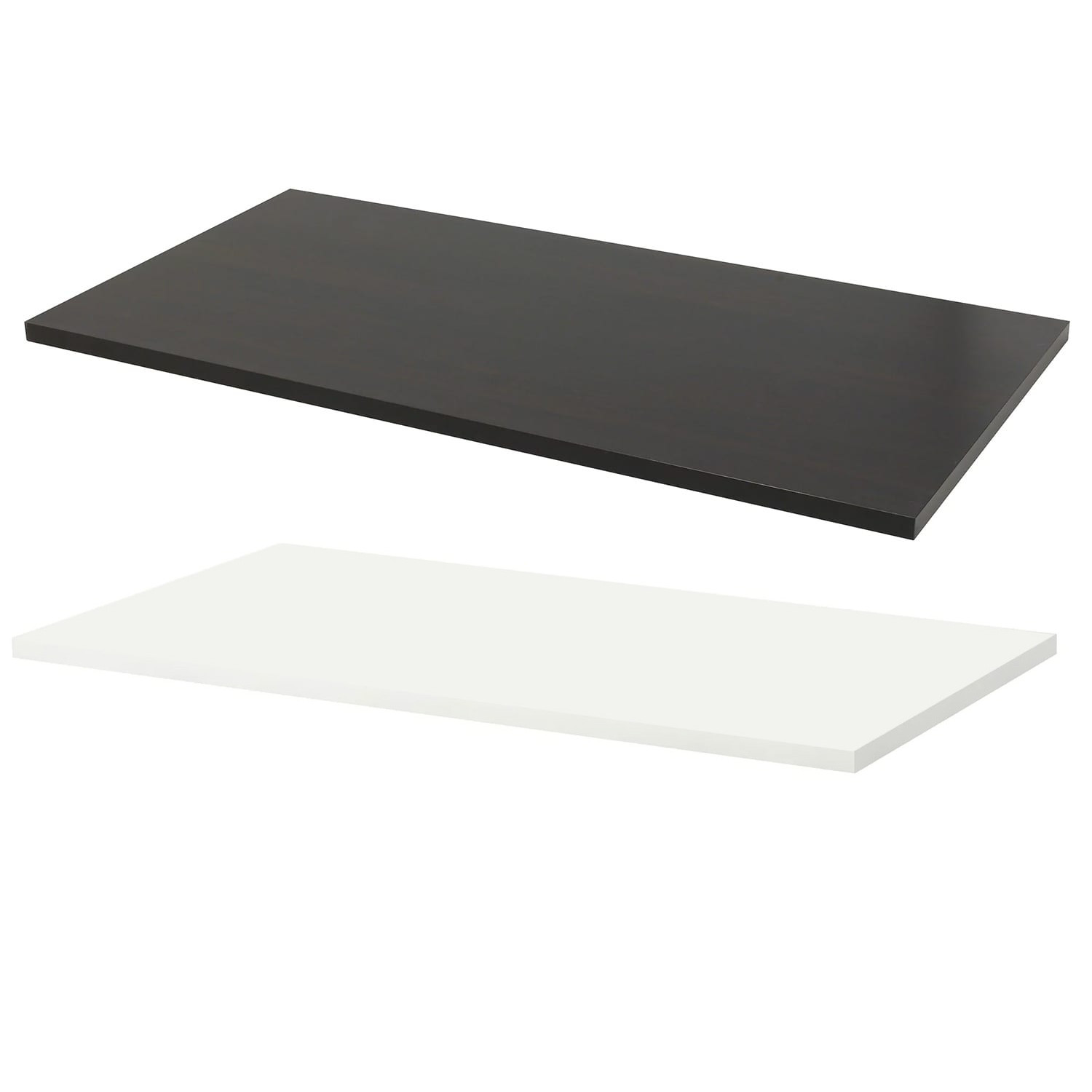 Premium Plain Rectangle Desk Tops 1200 x 800 mm various colours