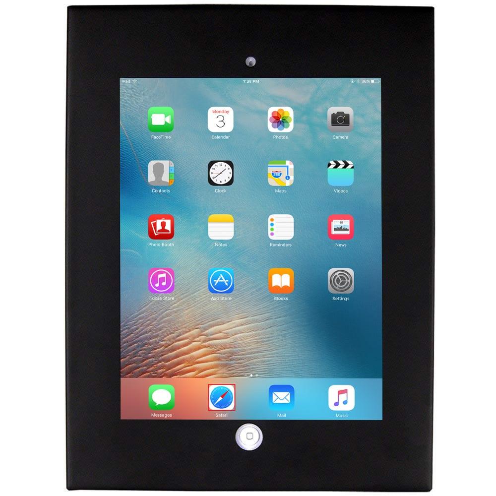 Allcam Anti-theft secure iPad holder Air Air2 enclosure case wall mount