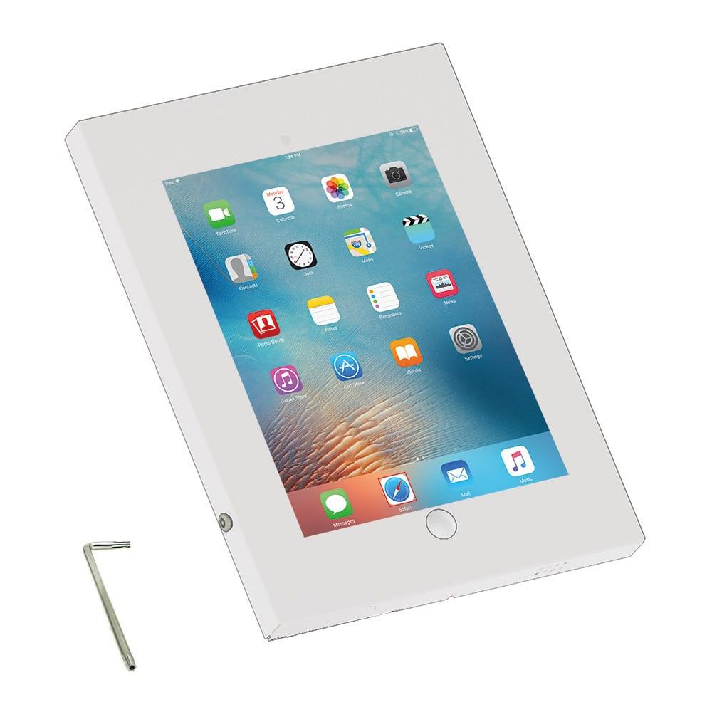 """IPP2601A iPad pro 12.9"""" enclosure case wall mount vesa white"""