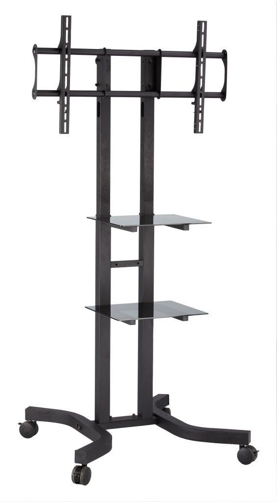 acava avf1000 series heavy duty tv trolley stands. Black Bedroom Furniture Sets. Home Design Ideas