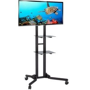 ACAVA AV1000-series Heavy Duty TV Trolley Stands