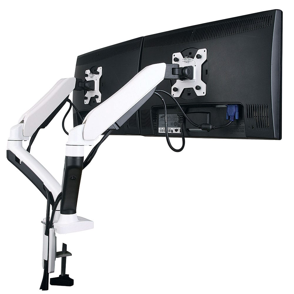Acava Ava20 Series Gas Spring Monitor Arm Stand W Desk