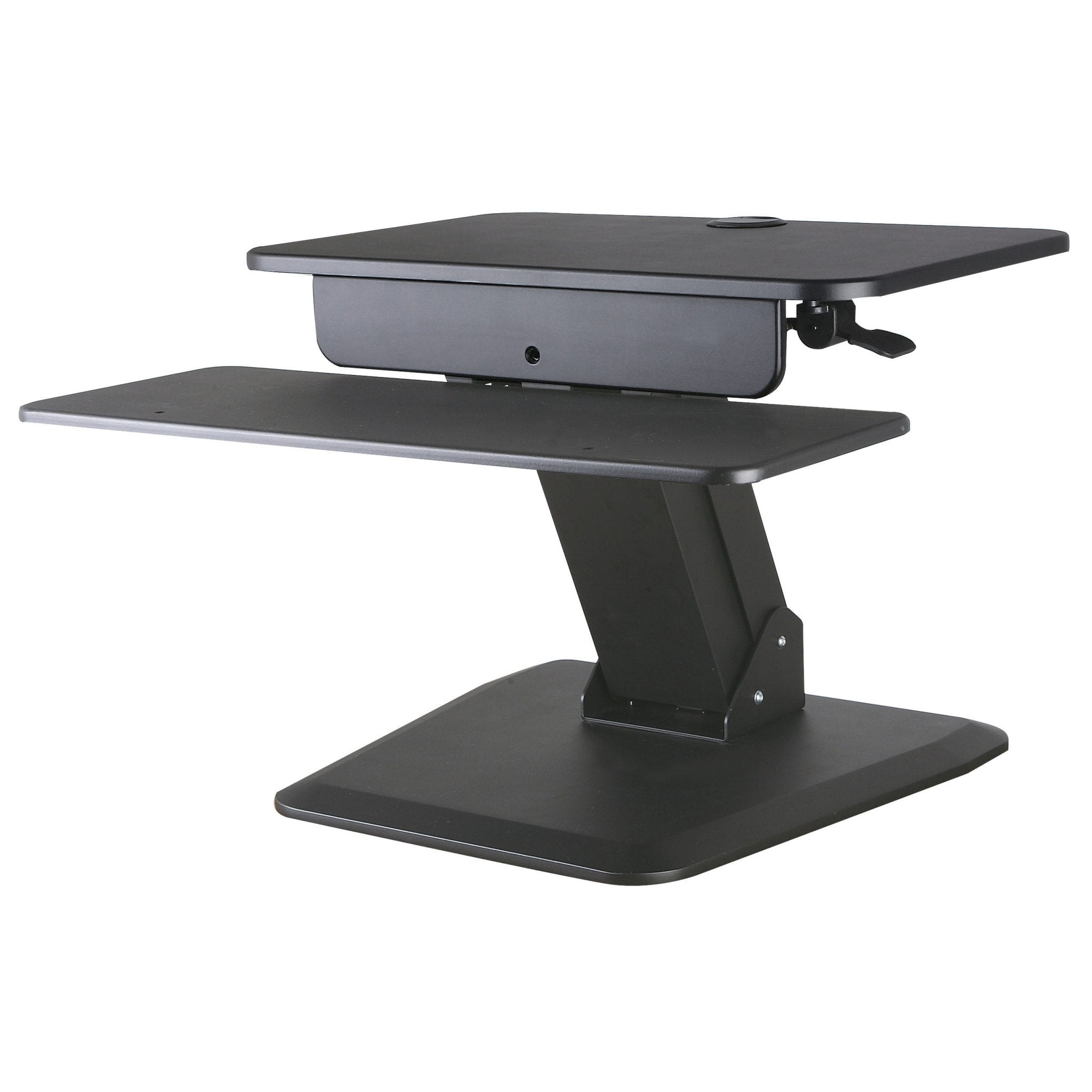 ACAVA GSS03BAS Sit-Stand Workstation for Lower Back Pain Relief due to Prolonged Sitting Hours