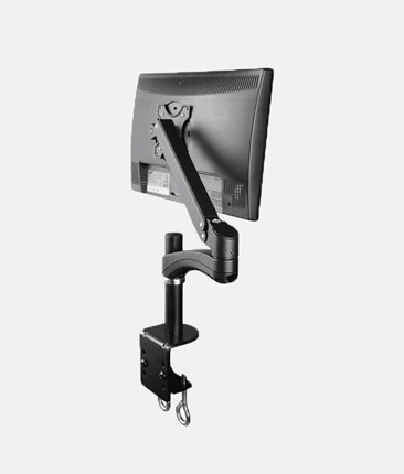AVA12S for 1x LCD 1.5-6kg Tilt, Swivel, Rotate Black