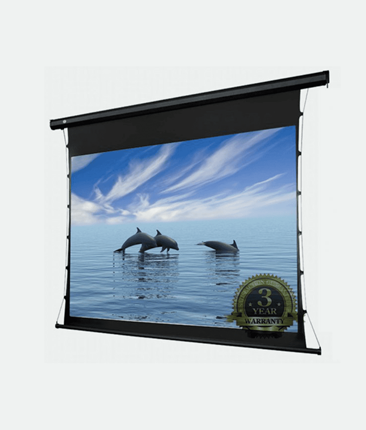 "AV120MET 120"" Tab-tensioned Screen 16:9 Electric RF Remote"
