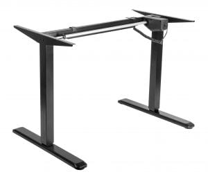 Allcam edf01s electric height adjustable sit stand desk workstation