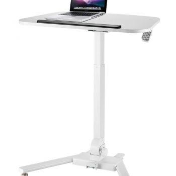 folding height adjustable reception table