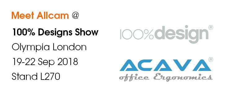100% design show 2018 notice