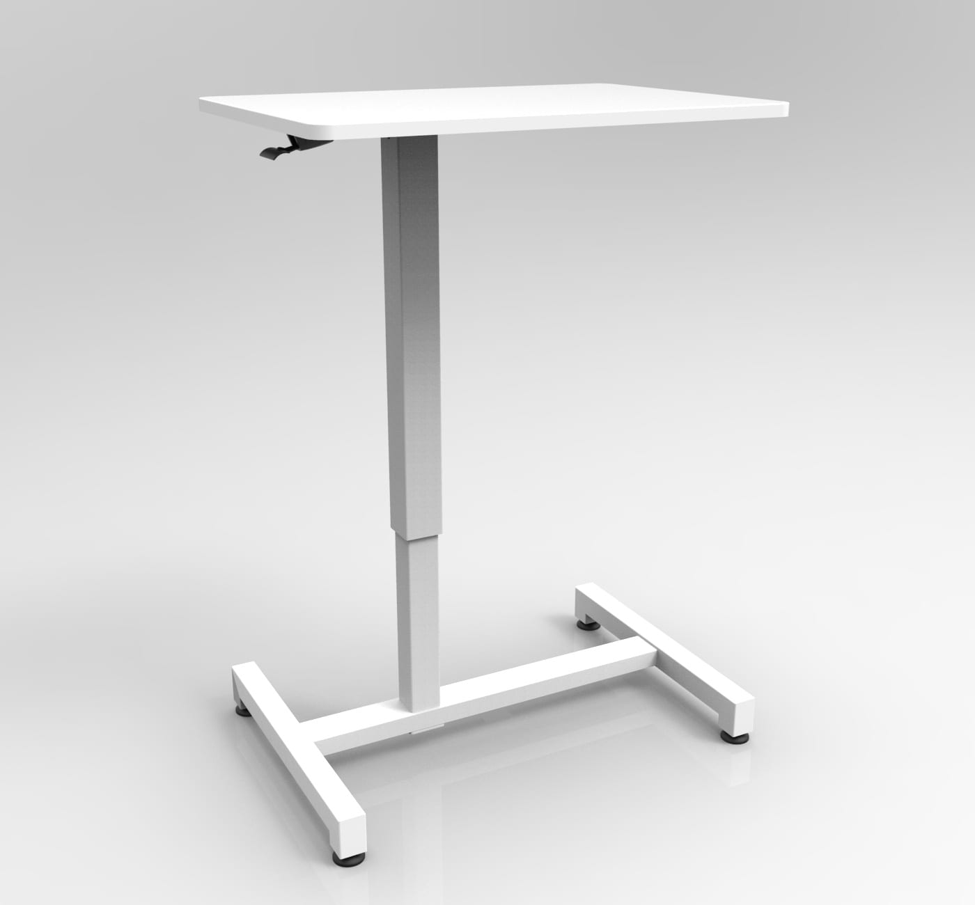 GBT05 overbed table gas spring height adjustable