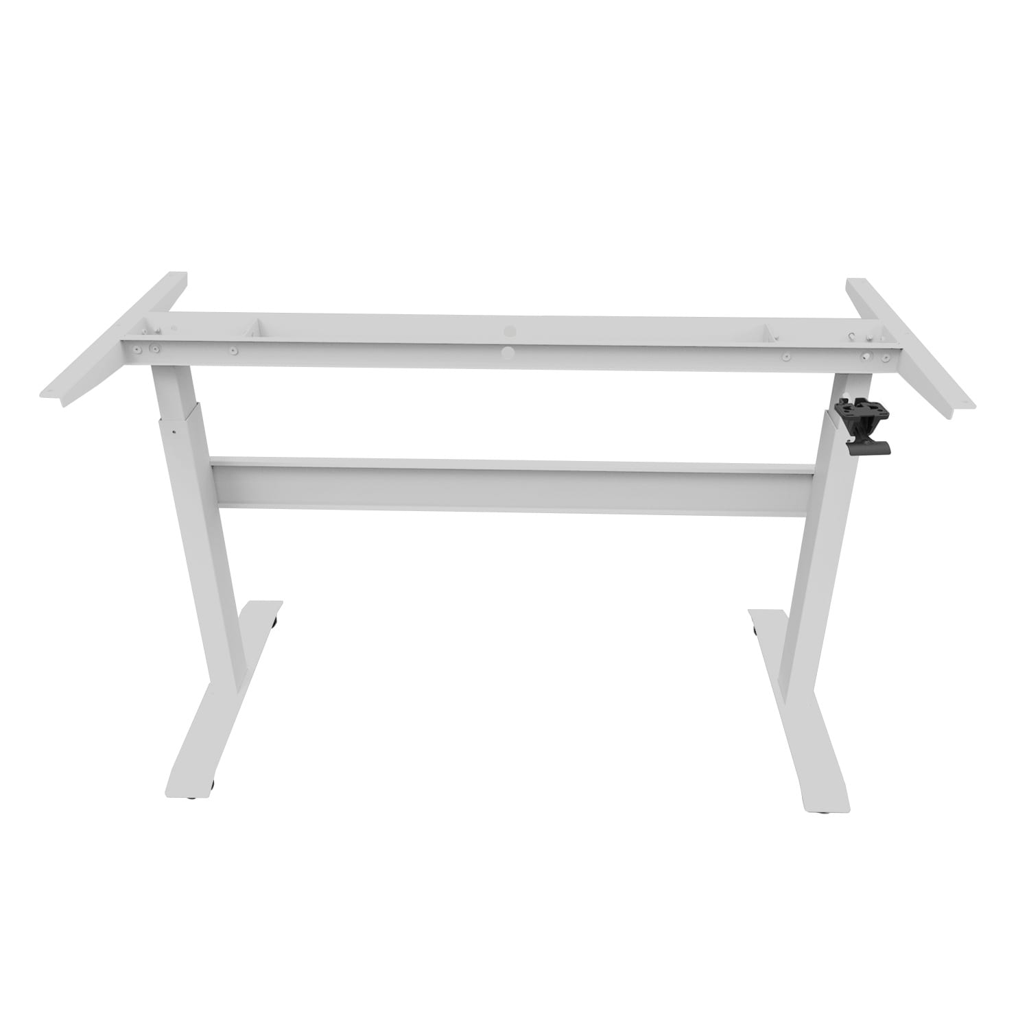 GDF02M gas spring height adjustable standing desk / sit-stand workstation frame