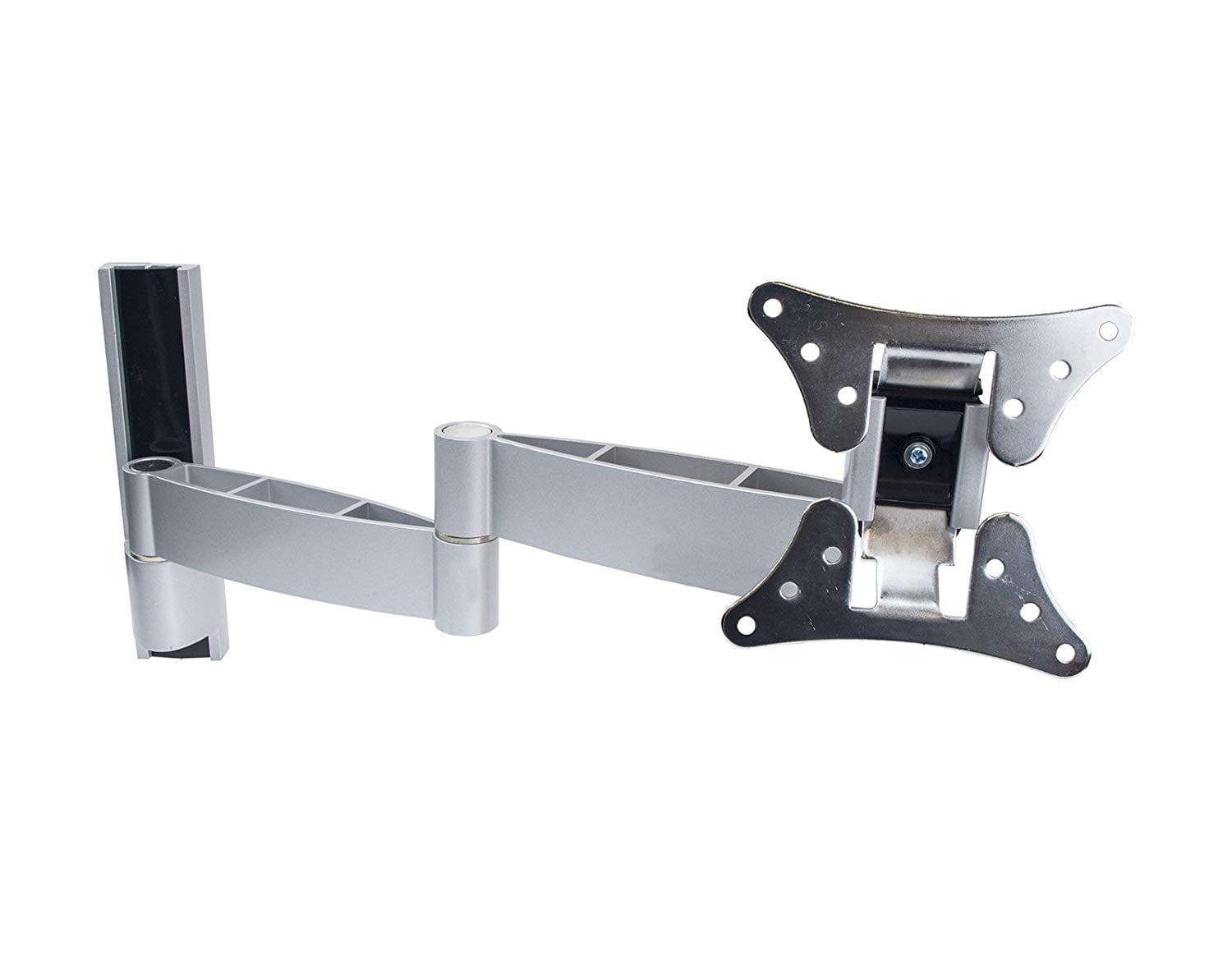 "AVD101 Aluminium Swivel Arm 7-41cm Tilt ±10° for 15""-26"", upto VESA100x100, 15kg"