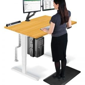 Allcam Ergonomic Suite sit-stand desk standing