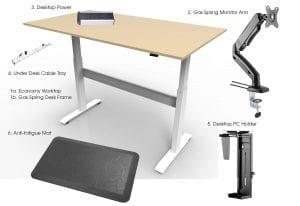 allcam ergonomic suite Bronze