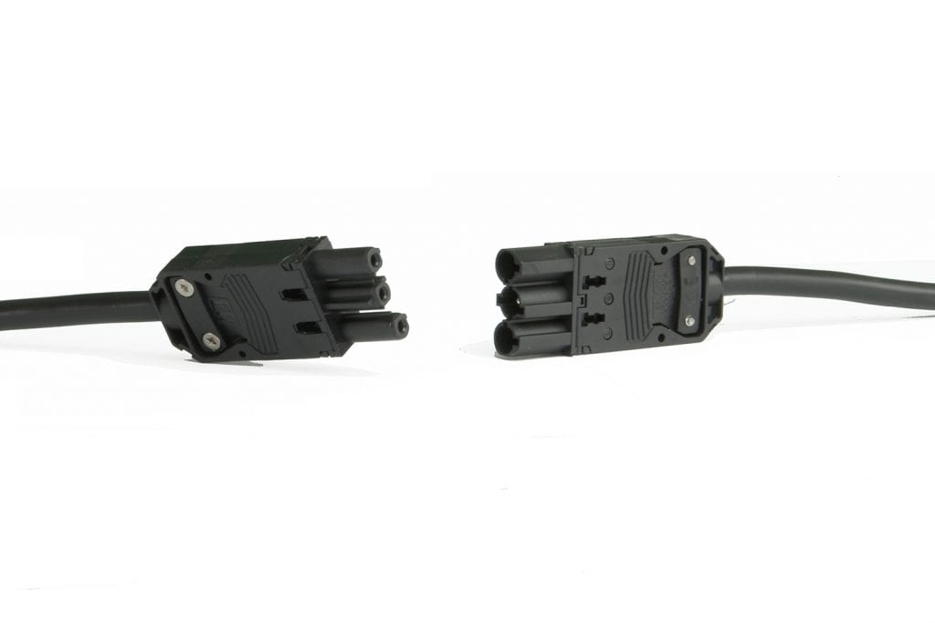 GST18/3 power cable for Allcam ACDP14S2UL/GST Commercial Grade Desktop Power Extension w/Desk Clamp