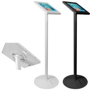Brateck PAD12-02A Anti-theft iPad Kiosk Floor Stands