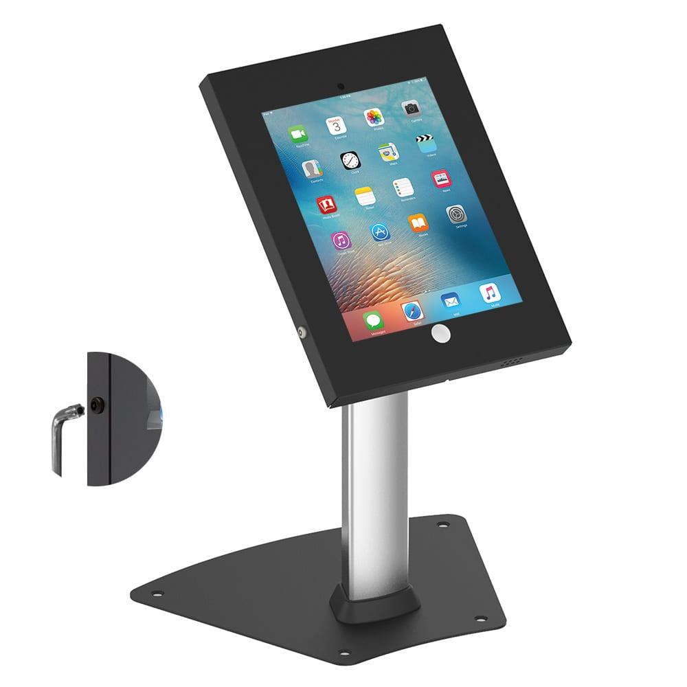 Allcam Ipa1204 Ipp1204 Steel Security Ipad Kiosk Table Stands