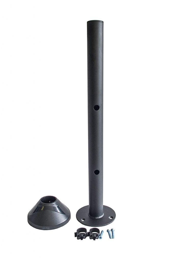 AVM10PS-CIR 40cm pole w/ circular base (bolt onto desk)
