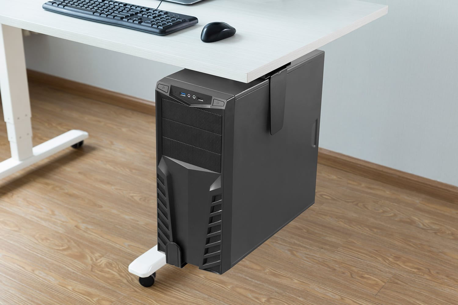 ph17lck underdesk CPU holder tower PC mount