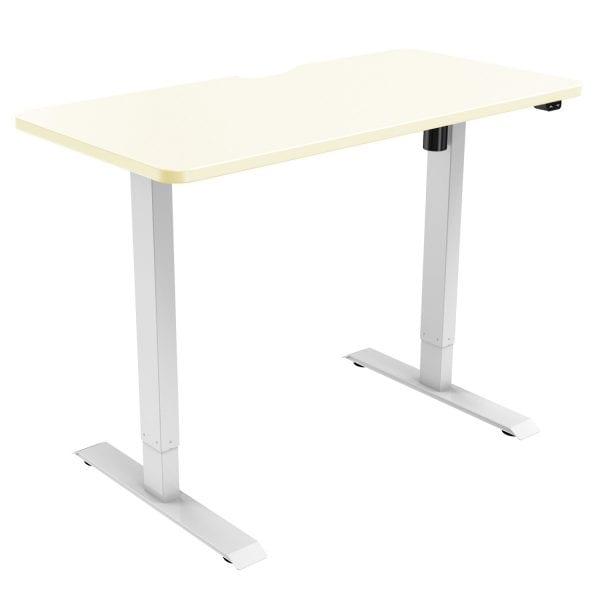 edf21s electric standing desk height adjustable desk oak