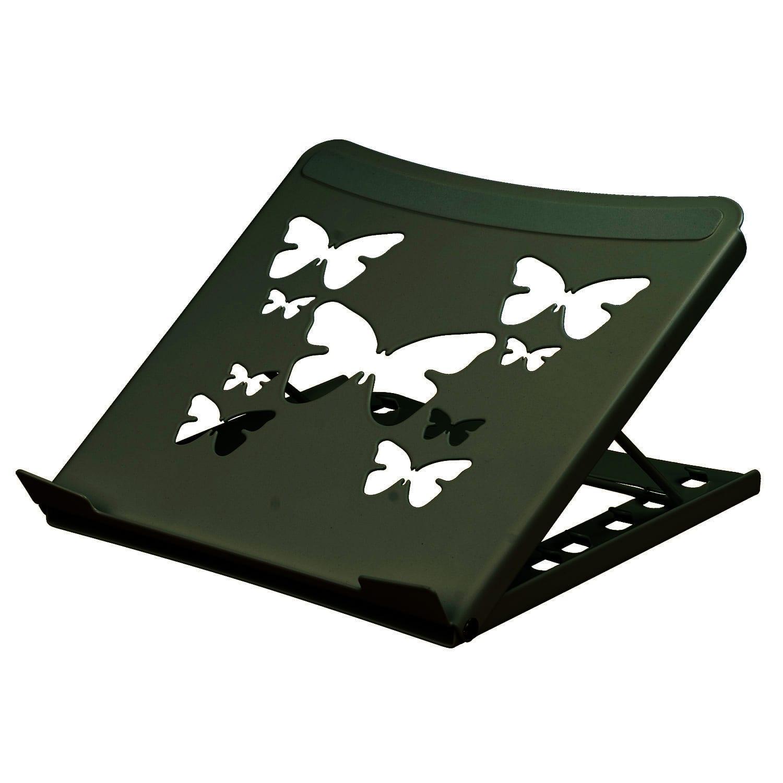 """Allcam LPS01SB Smart Folding Laptop Riser for 10"""" - 15.6"""" Laptops in Black"""