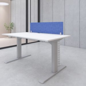 s144l acoustic panel desk privacy screen blue