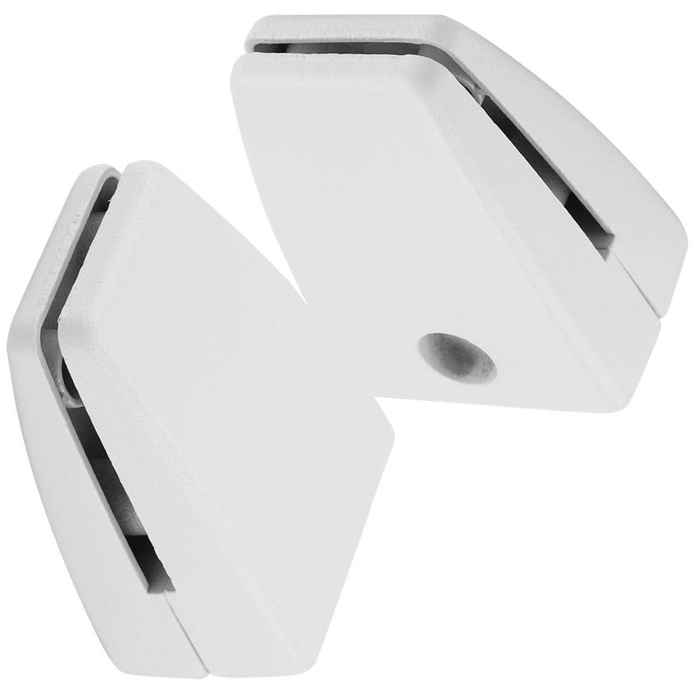 sem01 desk surface mount bracket for privacy screens and modesty panels