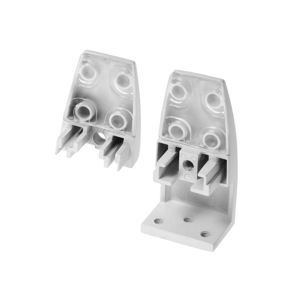 sem02 open edge mount brackets for desk top privacy screens dividers